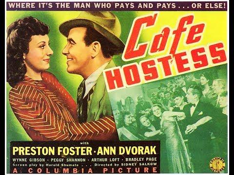Драма  Девушка из кафе 1940  Preston Foster Ann Dvorak Douglas Fowley