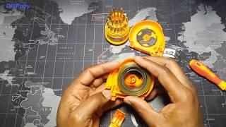 Repair Stuck Flexible Retracting Tape Measure