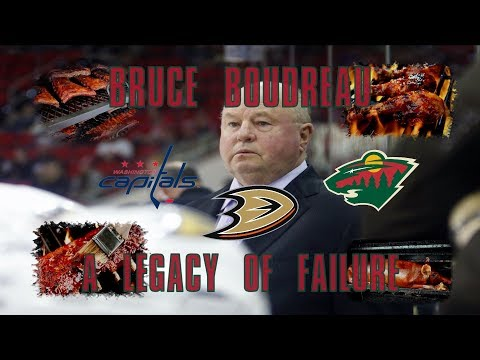Bruce Boudreau: A Legacy of Failure