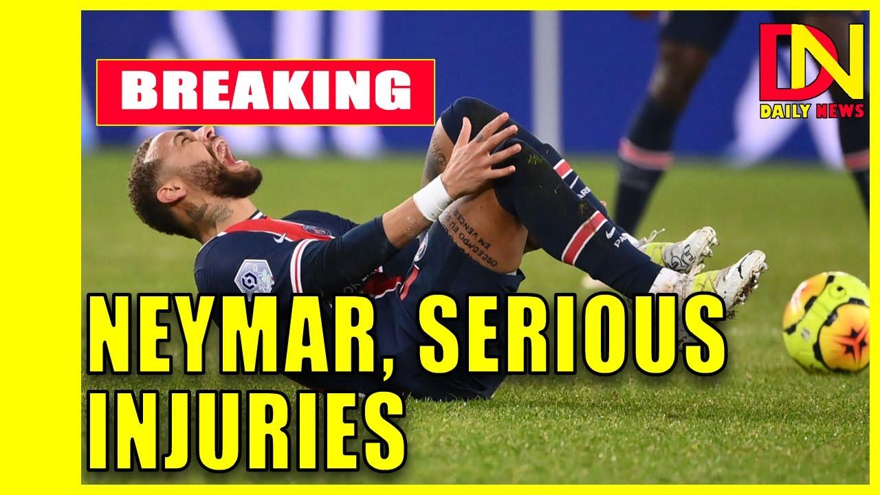Neymar injury: PSG faces anxious wait after Brazilian star ...