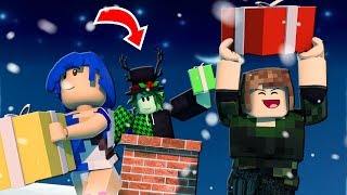 WE STEAL THE CHRISTMAS PRESENTS WITH the GRINCH l ROBLOX