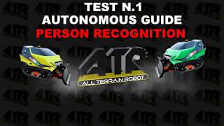 ATR Orbiter TEST AUTONOMOUS GUIDE: Person Recognition/Keep the distance and Follow me