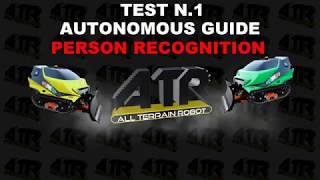 ATR Orbiter TEST AUTONOMOUS GUIDE: Person Recognition/Keep the distance and Follow me