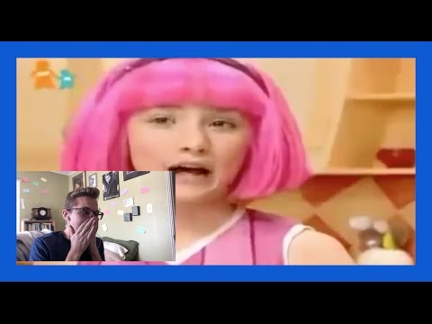[1400 SUB SPECIAL] I React to: Lazy Town Song Remixes
