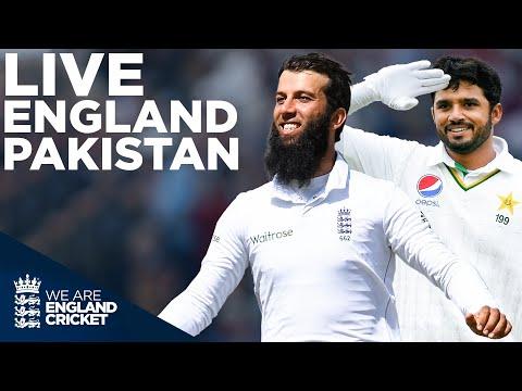 🔴  LIVE England v Pakistan Test Match Classic! | England v P
