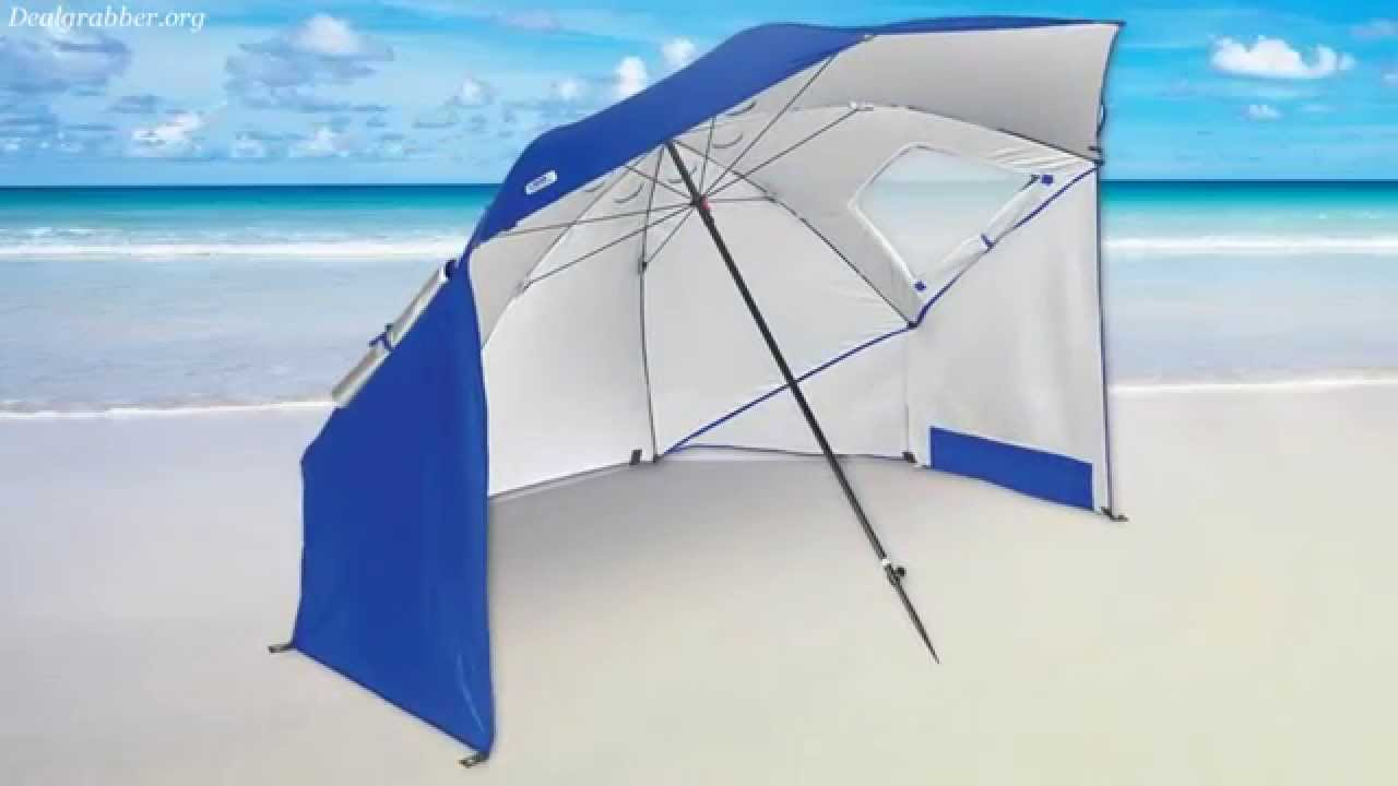 sc 1 st  YouTube & Sport-Brella Umbrella - Beach umbrella tent - YouTube