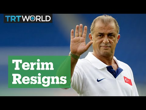 Turkey part ways with Fatih Terim