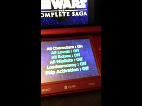 star wars games ds