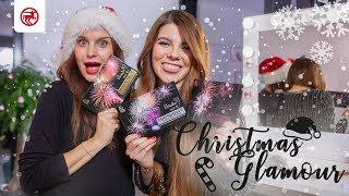 Christmas Make Over | Glamour Look für die Weihnachtsfeier | mit Marisol und Klaudia mit K