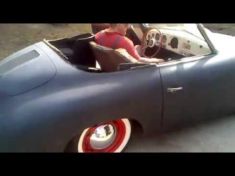 1953 Porsche 356 Pre A Reutter Cabriolet Knickscheibe