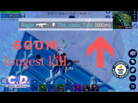 Longest Kill in the World (Creative Destruction-World Record)