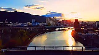 特急うずしお19号【JR四国 2700系】高松発車・徳島到着 車内放送 UZUSHIO-19 limited express Kotoku line, JR Shikoku