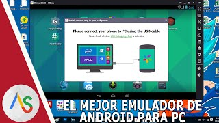 EL MEJOR EMULADOR DE ANDROID PARA PC 2017 (INCLUYE ROOT)
