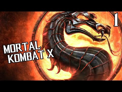 Mortal Kombat X Прохождение На Русском #1 — ВОЗВРАЩЕНИЕ В ПРОШЛОЕ