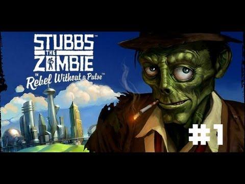 Stubbs the Zombie: Месть короля - Жрем мозги #1