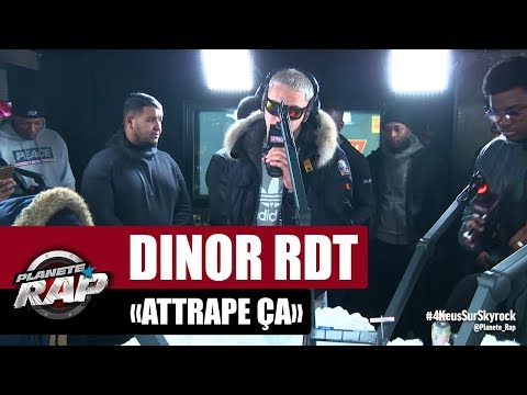 Youtube: Dinor rdt « Attrape ça » #PlanèteRap