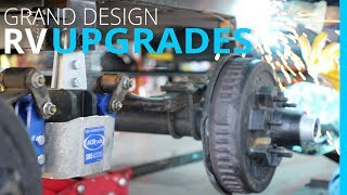 RV UPGRADES: MORryde SRE 4000 | WATER HEATER FIX & NEW MATTRESS