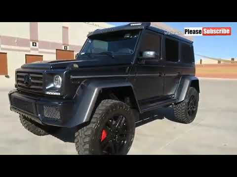 2020 Mercedes Benz G Class G550 space, features, price and review