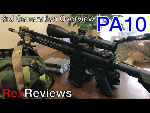 "psa-pa10-3rd-generation-18""-ss-barrel-and-pa-gold-series-acss-hud-dmr-~-rex-reviews-first-look"