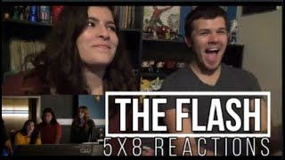 """The Flash 5x8 """"What's Past Is Prologue"""" Reactions"""