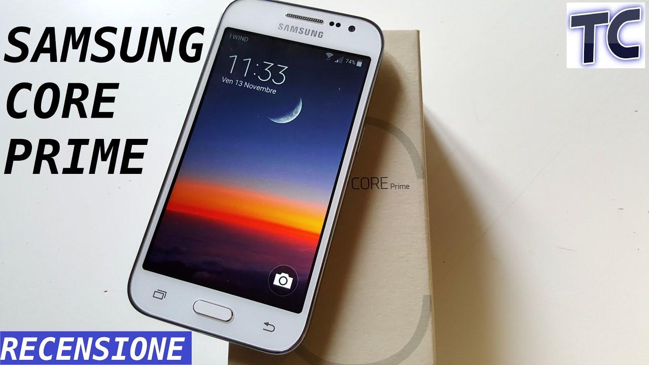 Samsung Galaxy Core Prime la video recensione di TheCiasti