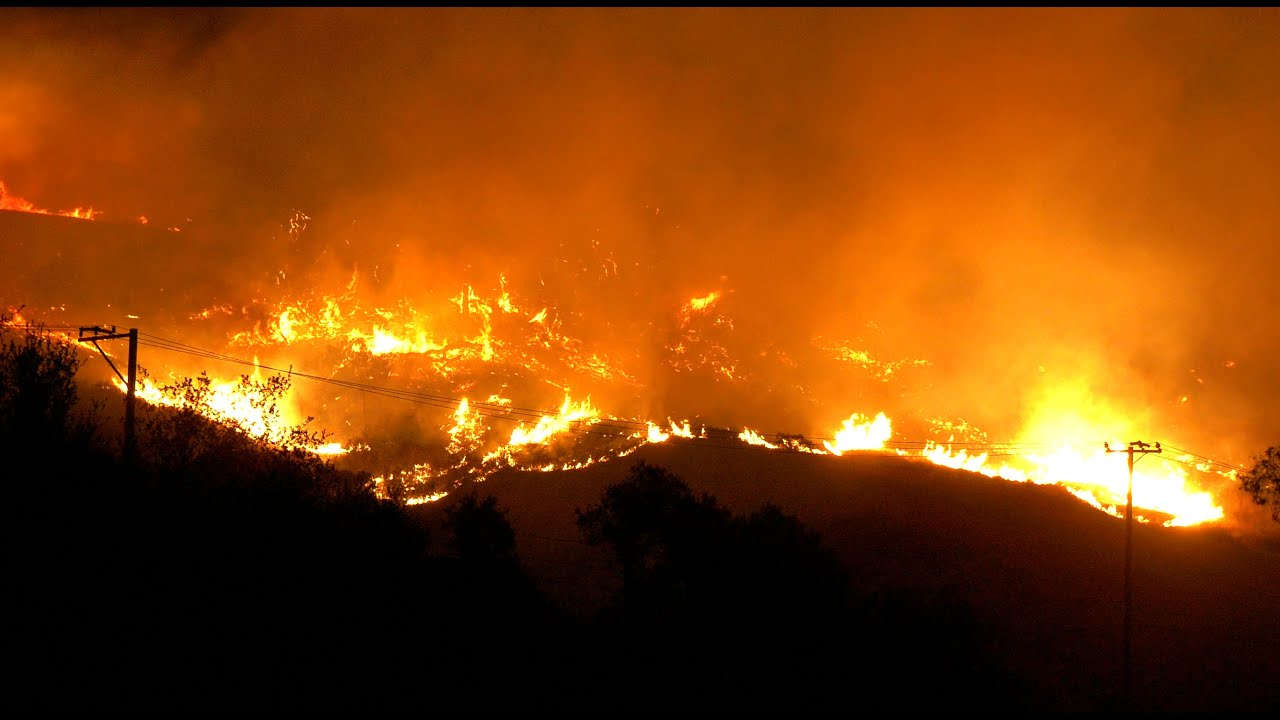 Bond fire evacuations continue in Orange County