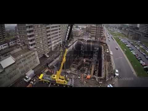 Brigil //retrait des excavatrices au 121 Parkdale
