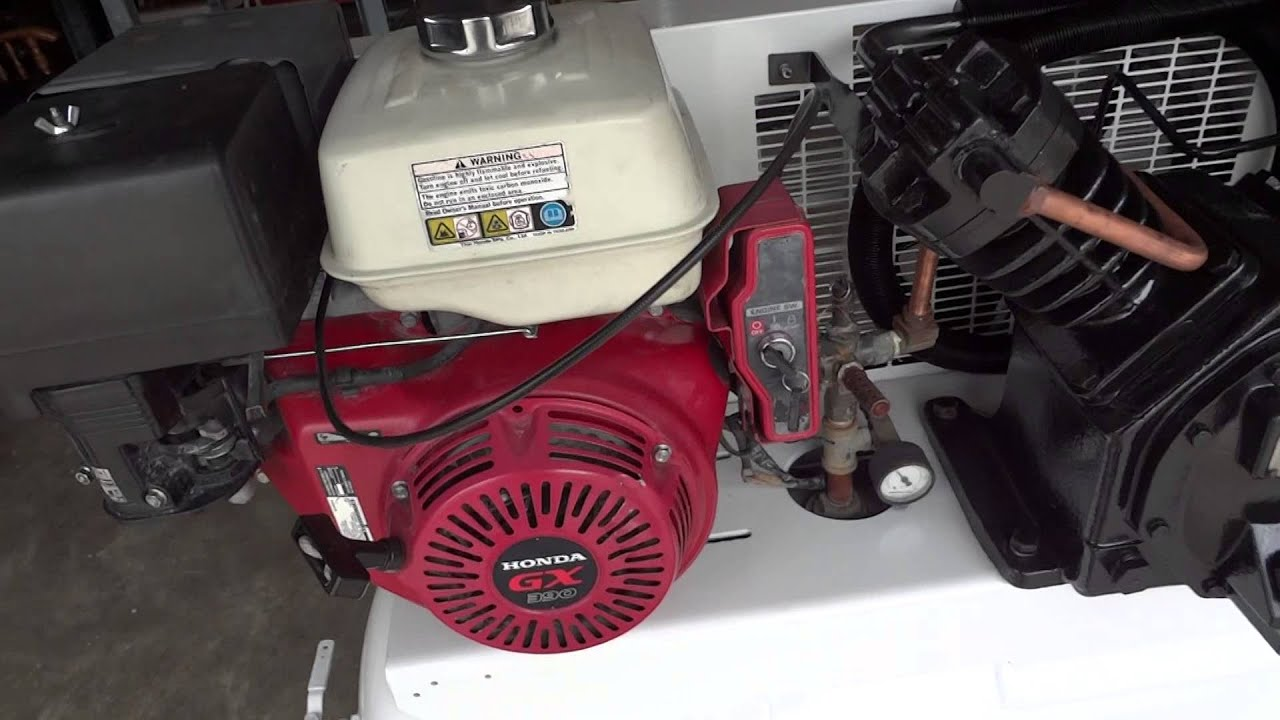 Ingersoll Rand T30 Truckmount Air Compressor Youtube Wiring Diagram