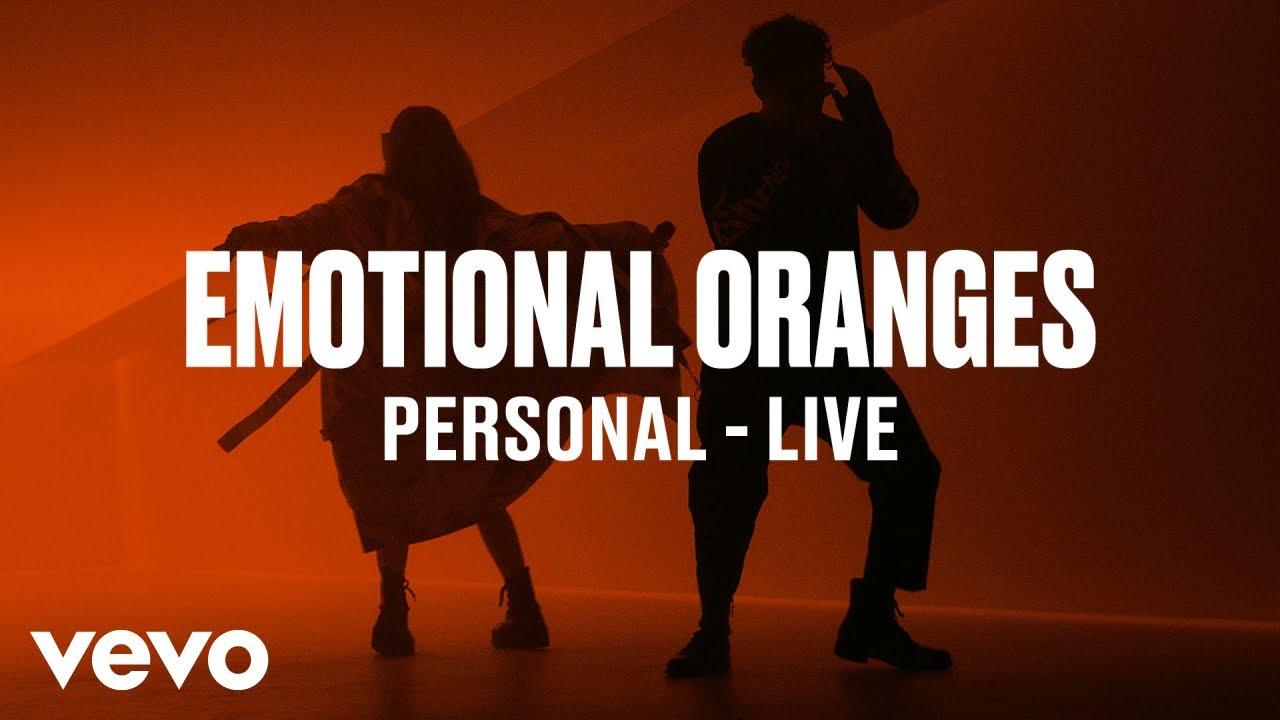 Download Emotional Oranges - Personal (Live | Vevo DSCVR)
