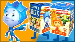 СВИТ БОКС. Фиксики. Sweet Box. Kinder Surprise. Киндер сюрприз. Каляка.