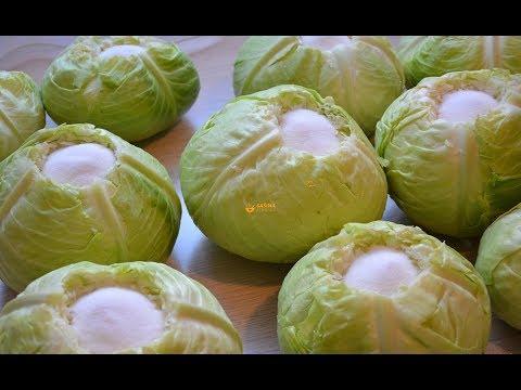 Kako se kiseli kupus zelje - Sašina kuhinja