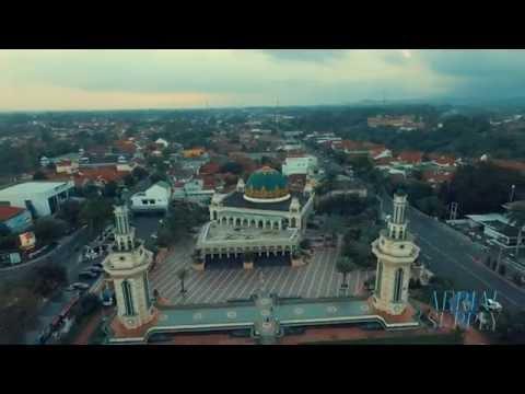 Tasikmalaya - Ciamis - Banjar Aerial Clip