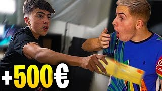 CARTE BLEU TRICKS CHALLENGE #2 (Tu perds, tu paies 500€) Ft. Inoxtag