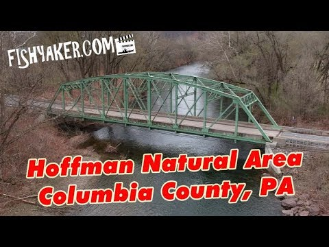 Hoffman Natural Area, Fishing Creek, Columbia County, Pennsylvania