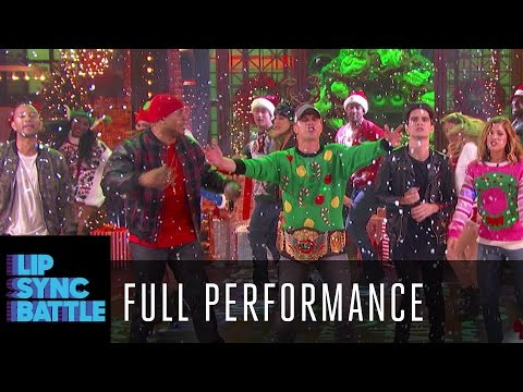 Rocking Around the Christmas Tree with the cast of Lip Sync Battle Country Holidays