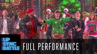 """""""Rocking Around the Christmas Tree"""" with the cast of Lip Sync Battle Country Holidays"""