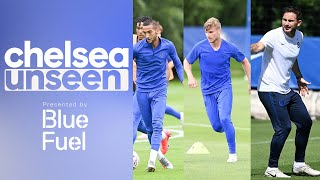 Timo Werner, Ziyech & Tammy Abraham on 🔥in Shooting Drill | Chelsea Unseen