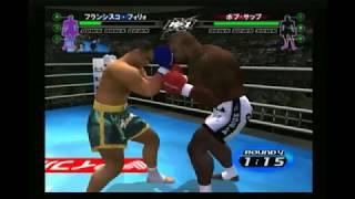 フランシスコ・フィリォ vs ボブ・サップ K-1 WORLD GRAND PRIX 2003 PS2.