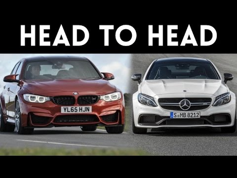 Sports Car Fight! |'17 Mercedes C63 AMG S Coupe vs '17 BMW M3 Competition Package