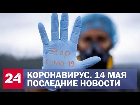 Коронавирус. Последние новости. Ситуация в России и мире. Сводка за 14 мая - Видео онлайн