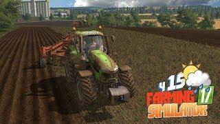 Farming Simulator 17 - Трактористы против огромного поля! Кто кого?