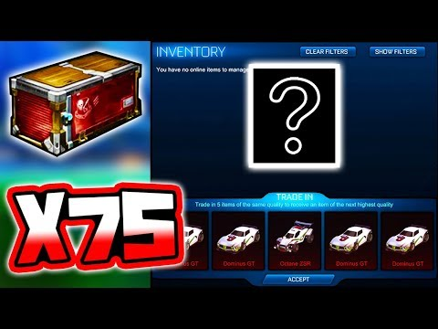 BRAND NEW PLAYERS CHOICE CRATE TRADE UP!! ( Rocket League Update )