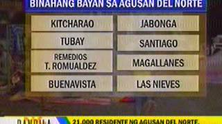 ABS-CBN NEWS  BANDILA ((Flooding in  Butuan City-Agusan del Norte)