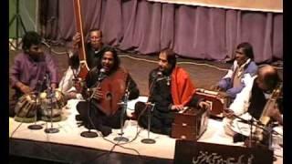 Ustad Shafqat Ali Khan & Latafat Ali Khan, part 4 - Lahore 20.02,2010