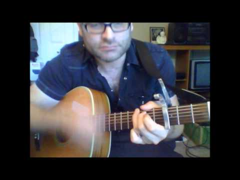 How to play Lucille by Kenny Rodgers on acoustic guitar