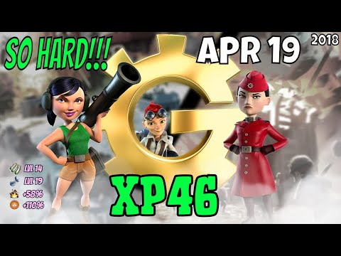 War Factory (XP46) Unboosted - Boom Beach Apr 19/2018