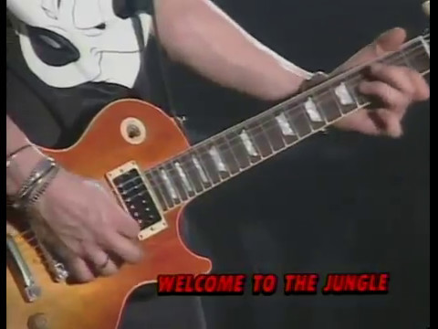 Guns N' Roses   Welcome To The Jungle Use Your Illusion World Tour 1992 Tokio