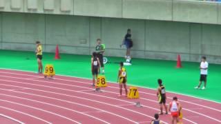H29年度 学校総合 埼玉県大会 中学男子4×100mR決勝 thumbnail