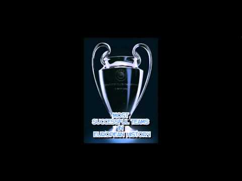 TOP 10 MOST SUCCESSFUL TEAMS IN THE CHAMPION'S LEAGUE/ EUROPEAN CUP HISTORY