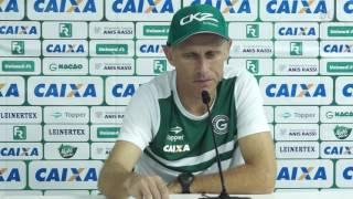 Coletiva do Técnico Silvio Criciúma após o empate do Goiás com o Vila Nova